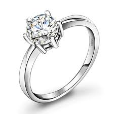 cheap personalized jewelry personalized cheap diamond engagement ring for women platinum
