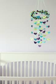 bird mobile aqua blue green u0026 purple nursery decor on luulla