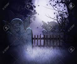 halloween graveyard background dark graveyard background stock photo picture and royalty free