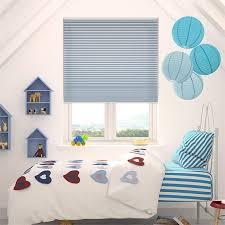 Cordless Little Boy Blue Thermal Blind - Boys bedroom blinds