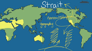 Interactive World Map For Kids by Strait Definition For Kids Youtube