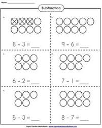this resource contains kindergarten addition and subtraction
