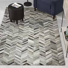 Are Cowhide Rugs Durable Modern Cowhide Rugs Allmodern