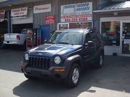 2003 blue jeep liberty 2003 jeep liberty 4dr sport 4wd suv in liberty ny immaculate