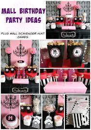mall scavenger hunt birthday party moms u0026 munchkins