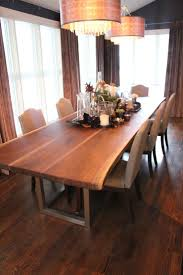 slab dining room table live edge dining table inspiration for your dining room custom