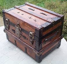 wooden trunk how to restore antique trunks and trunk restoration refurbished