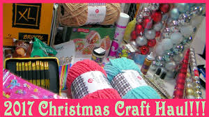 christmas u0026 craft haul 2016 ac moore dollar tree u0026 more youtube