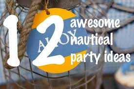 nautical baby shower decorations for boy party themes inspiration
