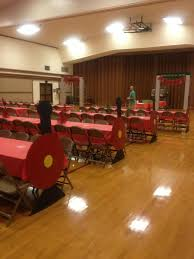 polar express party with train tables polar express ideas