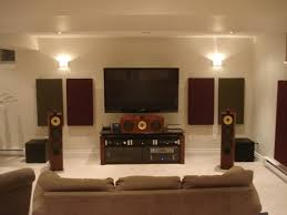 Diy Acoustic Panels Home Theater Best House Design Adding Diy
