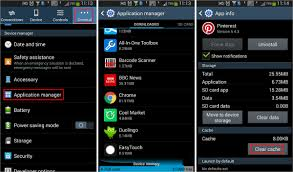android how to clear cache how to clear android cached app data