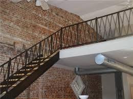 loft railing metal u2014 railing stairs and kitchen design install