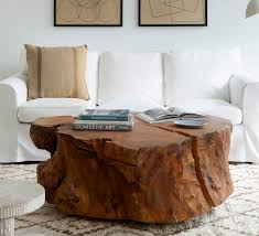 tree cross section table cross section coffee table the brooklyn home co