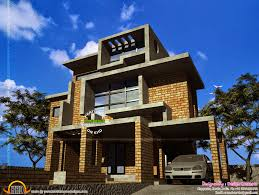 brick home floor plans brick house design in kerala kerala home design and floor plans for