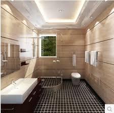 Bathroom Floor Mosaic Tile - bathroom mosaic tile black matte prevent slippery floor mosaic