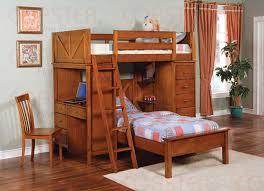 Captain Bed With Desk San Jose Bunk Beds Loft Beds Captains Beds Twin Beds Wood Bunk