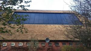 solar panels on houses thatched roof no problem libra energy netherlands