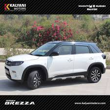maserati hyderabad kalyani motors introduced vitara brezza limited edition