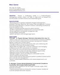Supply Chain Management Resume Sample by The Amazing Resumes For Management Positions Resume Format Web