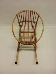 children u0027s rattan rocking chair 1960s for sale at pamono