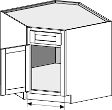 kitchen sink base cabinet is the sink base a corner cabinet or a