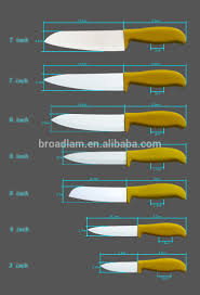 7 inch santoku kitchen knife zirconia black blade satin finish