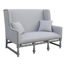 French Linen Armchair French Settee Antique Furniture Ebay