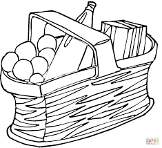 korean food coloring page free printable coloring pages