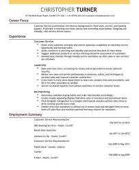 Free Sample Resume For Customer Service Representative Customer Service Representative Resume Sample Resume For Customer