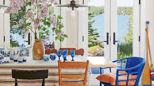 Light Wood Dining Room Furniture Beach House Dining Rooms Coastal Living