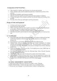 Work Study Resume Work Study Part I