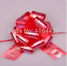 pull bow ribbon 20 x large big 50mm pull bow ribbon flower gift packing
