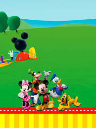 mickey mouse party invitations printable free printable
