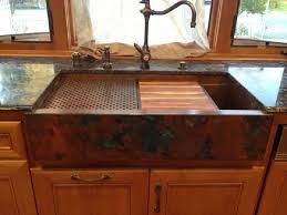 Hundreds Of Photos Of Copper Sinks Installed In Kitchens - Copper farmhouse kitchen sink