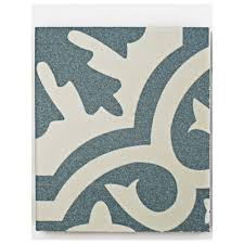 Blue Ceramic Floor Tile Merola Tile Berkeley Blue Ceramic Floor And Wall Tile 3 In X 4