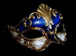 blue masquerade masks sinfona masquerade masks blue