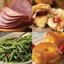 course ham dinner