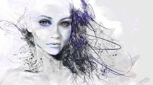 beautiful face drawing show more images pics