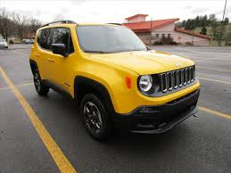 yellow jeep 4 door jeep renegade in west virginia for sale used cars on buysellsearch