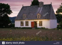 old 1752 french regime cottage style residential home