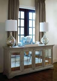 Mirror Over Buffet by 359 132 Marquesa Buffet Bernhardt W 79 D 20 H 38 Gray Cashmere