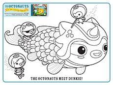 30 octonauts birthday party images colouring