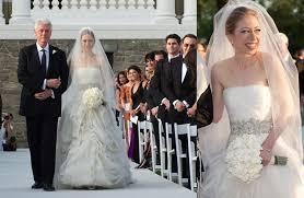 chelsea clinton wedding dress 25 most expensive wedding dresses 2017 s