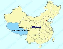china on a map tibet map map of china tibet province maps