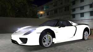 new porsche 918 spyder 2016 porsche 918 spyder weissach package for gta vice city