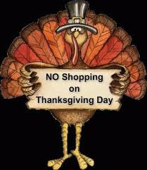 no shopping on thanksgiving day pictures photos and images for