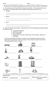 Mohs Hardness Scale Worksheet 14 Best Grade 3 Building And Testing Images On Pinterest Grade 3