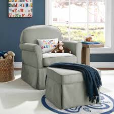 Rocking Chair Glider For Nursery by Baby Relax Evan Swivel Glider And Ottoman Beige Walmart Com