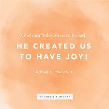 Joy Meme - god created us to have joy